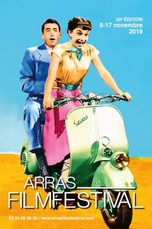 Arras film festival - festival - cinéma - films - europe de l'Est - découvertes - relations presse - attaché de presse - Audrey Hepburn - vespa