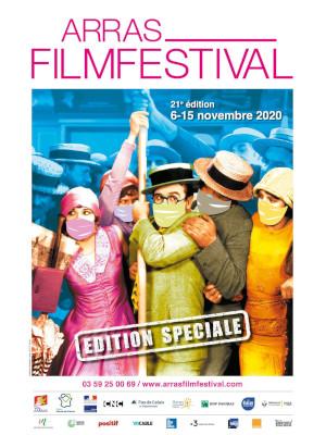 Arras Film Festival - Arras - Affiche - 2020 - Festival - cinéma - culture - films - relations presse - attache de presse