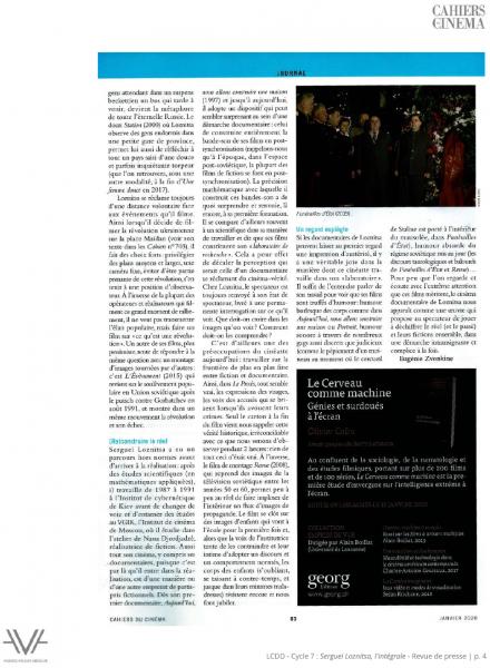 La Cinémathèque du documentaire - Bibliothèque publique d'information - Bpi - Maysles - revue de presse - relations presse - attaché de presse - cinéma - documentaire - festival