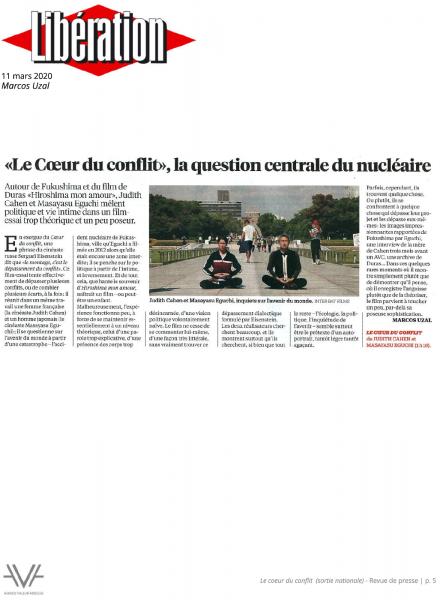 Le Coeur du conflit - film - documentaire - revue de presse - relations presse - attaché de presse - cinéma - culture