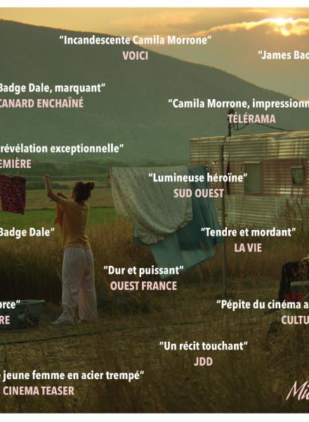 Revue de presse - citations presse - Mickey and The Bear - Annabelle Attanasio - cinéma - film - sortie - cinéma indépendant - ACID - festival de Cannes - festival de deauville - relation presse - attachée de presse - films américain - film indépendant - camila Morrone - James Badge Dale - Wayna Pitch - distribution