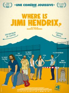 Where is Jimi hendrix - affiche - film - cinéma - relations presse - attaché de presse - culture